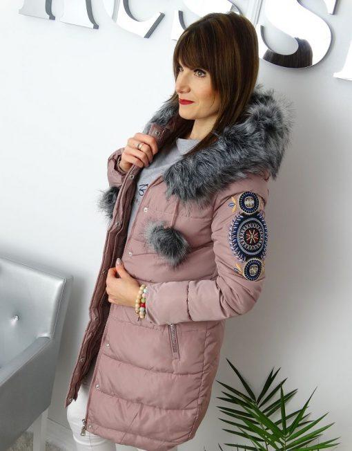 zimowa-pikowana-kurtka-hafty