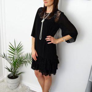 Koronkowa-sukienka-z-falbankami