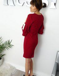 Sukienka-wizytowa-falbanki